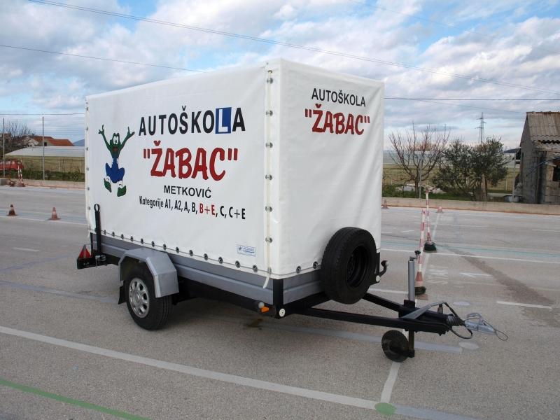 BE kategorija Autoškola Zagreb Žabac