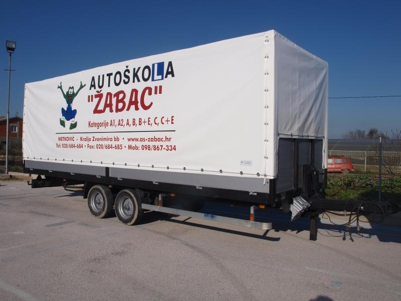 CE kategorija Autoškola Zagreb Žabac