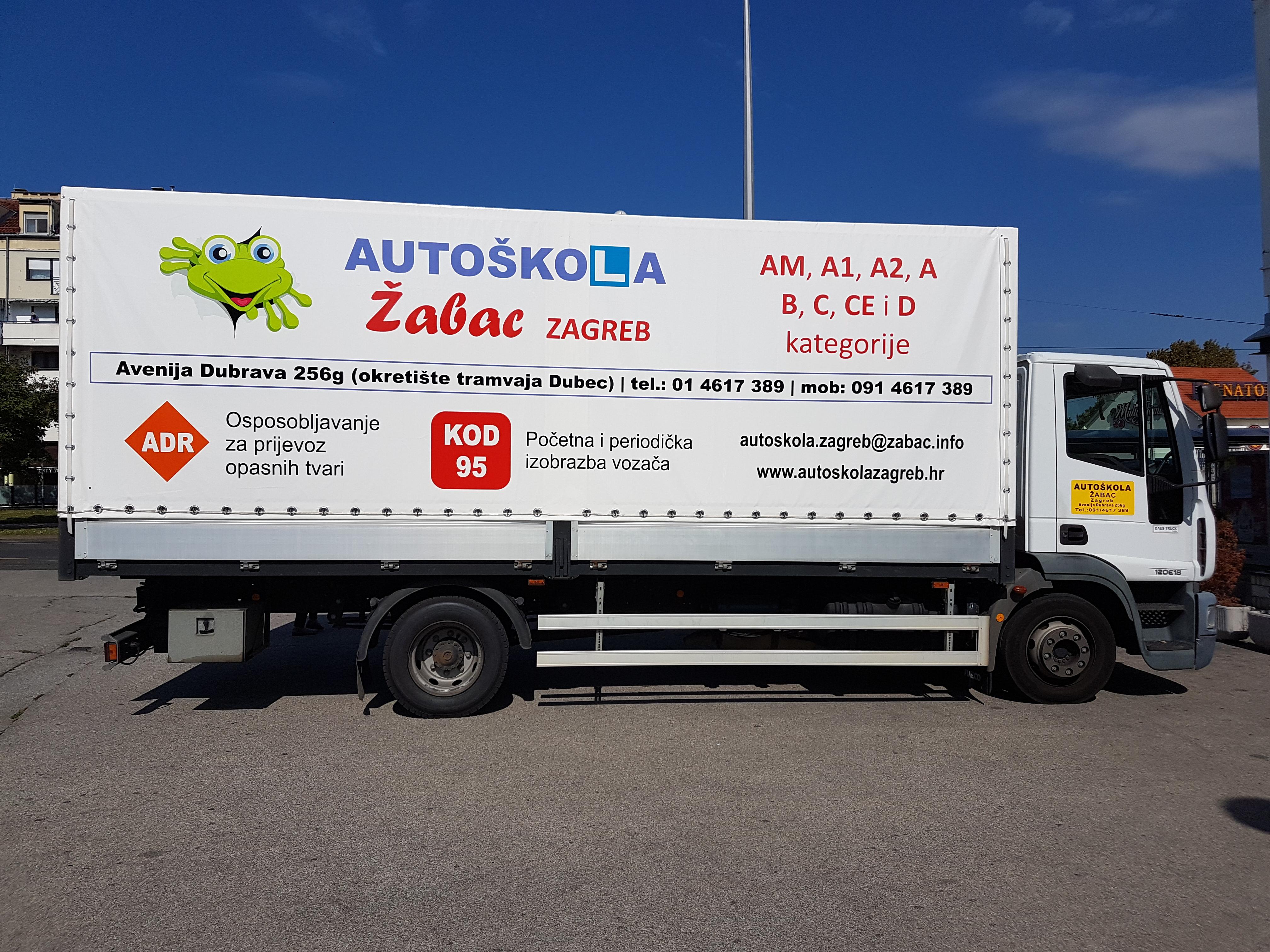 C kategorija Autoškola Zagreb Žabac