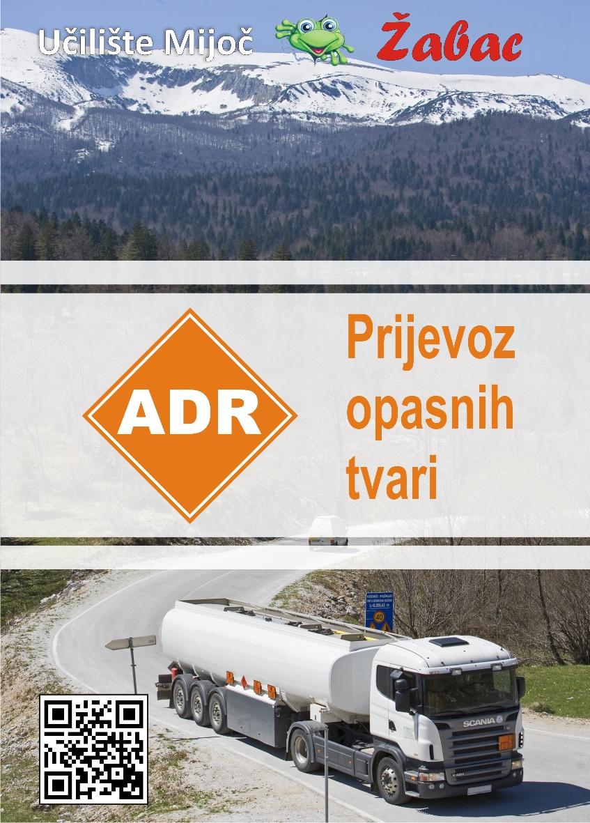 Brošura ADR Autoškola Zagreb
