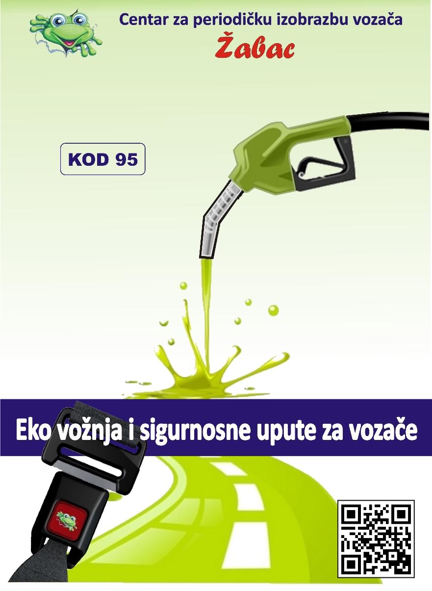 Brošura Eko vožnja Autoškola Zagreb